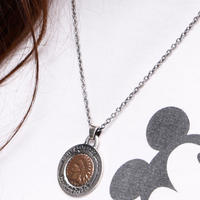 NORTH WORKS PENNY IN 25cent PENDANT N-222