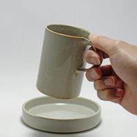 モデラート ハイカップ&ソーサー グレー[ceramic japan]
