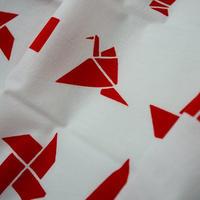 あひろ屋てぬぐい 折紙 赤