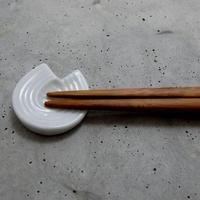 ミヤマ/miyama mizu-hiki あわじ結び箸置き 白磁