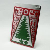 テラダモケイ 1/100建築模型用添景セット No.69 クリスマス編2