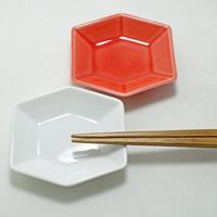 深山/miyama kikko 六角小皿 白磁