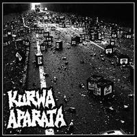 """VIIMEINEN KOLONNA / KURWA APARATA - split 7""""EP (Kamaset Levyt)"""
