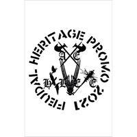 AXE HELVETE - Feudal Heritage - Promo 2021 cassette (Black Konflik)