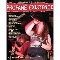 PROFANE EXISTENCE #52/53 Zine + 2 CDs (spring 2007)