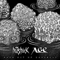 """HELLSHOCK / AGE - Born Out Of Darkness split 7""""EP  (H.G.Fact)"""