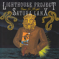 "LIGHTHOUSE PROJECT / SATURA LANX - split 7""EP (Deaf Forever)"