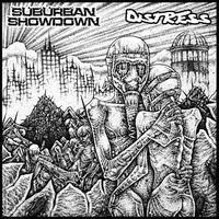 SUBURBAN SHOWDOWN / DISTRESS - split CD (Headnoise)