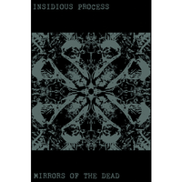 INSIDIOUS PROCESS - Mirrors Of The Dead cassette (Godzilla Distro)