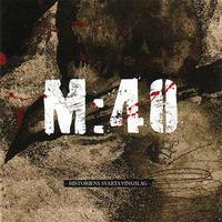 M:40 - Historiens Svarta Vingslag LP (Deviance)