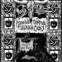 "ASOCIAL TERROR FABRICATION - Under The Dark Force 7""EP (Hardcore Survives)"