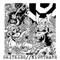 "SKITKIDS / NIGHTMARE - split 7""EP (H.G.Fact)"