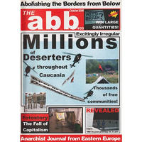 ABOLISHING THE BORDERS FROM BELOW #33 Zine (October 2008)
