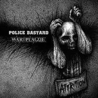 POLICE BASTARD / WAR PLAGUE - split LP (Profane Existence)