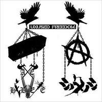 シノメノシ / AXE HELVETE  - Unused Freedom split CD (Self-Released)