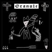 "GRANULE / KLONNS - ""Discipline"" split 7""EP (Black Hole)"