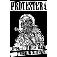 FLYKTSODA #25 - Protestera - Live Benefit For The Antifascist Struggle... cassette (Flyktsoda)