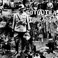 "SOTATILA / THINK AGAIN  - Black Rainbow split 7""EP (Hardcore Survives)"