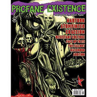 PROFANE EXISTENCE #55 Zine + CD (Jan-Mar 2008)