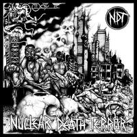 NUCLEAR DEATH TERROR - s/t LP (Plague Bearer)[USED]