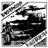 "DISTRESS / IRRITATION - split 7""EP (Up The Punx Records)"