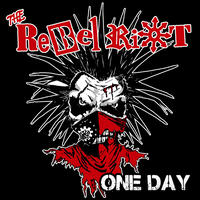 """THE REBEL RIOT - One Day 7""""EP - イラストジャケ (Harimau Asia)"""