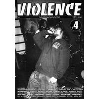 VIOLENCE #4 Zine (Selfmadegod Records)