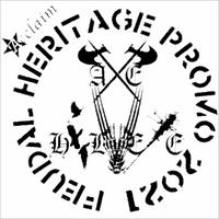 AXE HELVETE - Feudal Heritage - Promo 2021 CD-R (Acclaim Collective Version) (Self-Released)