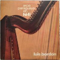 Luís Bordon – Arpa Paraguaia Em Stereo