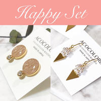 【Happy Set】ピアス1