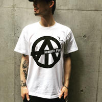"""Tee-Shirts """"Circle Logo - White"""""""