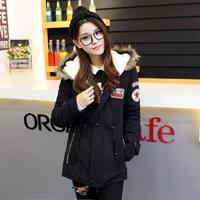 モッズコート レディース 大きいサイズ 女性用 ファー フード付 ミリタリーコート 韓国ファッション秋冬 K30073