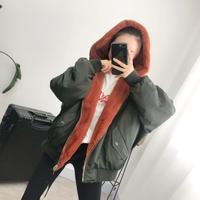 レディース ボアコート ロングコート ボアコート コート ロング丈コート 大きいサイズ 可愛い 韓国ファッション リバーシブル K30106