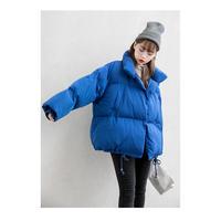 シンプルダウンジャケット アウター オーバーサイズ ベーシック 秋冬 防寒 韓国 ファッション K3039
