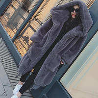 レディース ボアコート ロングコート ボアコート コート ロング丈コート 大きいサイズ 可愛い 韓国ファッション K30103