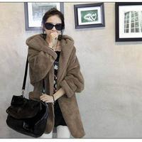 ボア ボアブルゾン ボアアウター ボアコート ボアジャケット 韓国ファッション オルチャン ガウンコート K39001