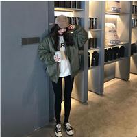 ボア ボアブルゾン ボアアウター ボアコート ボアジャケット 韓国ファッション オルチャン ガウンコート K39003