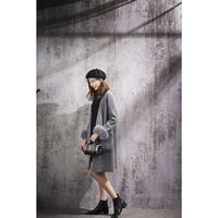 ロングコート レディース コート ロングコート ロング丈コート 秋冬 ポケットファーコート 韓国 ファッション K30019