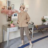 チェック柄テーパードパンツ ストレート シンプル オルチャン ベージュ 韓国 ファッション B3024