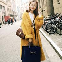 ニットコート レディース コート ロング丈 コートジャケットレディース コートジャケット コート大きいサイズ 韓国ファッション K30125