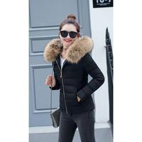 シンプルダウンジャケット ファー フード 大きいサイズ 大人かわいい オルチャン 韓国 ファッション K3082