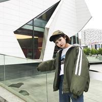 バックロゴ メンズライクパーカージャケット 韓国ファッション K39022
