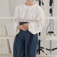 !再入荷!velvet x lace mood blouse