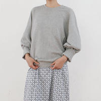 tucked cuff sweat