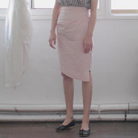 polyester tucked tight skirt