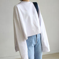 gap design cropped sweat