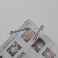wavy hair pin