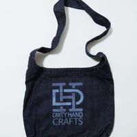"""""""DIRTY HAND CRAFTS"""" LOGO Denim Shoulder bag"""