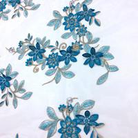 07-7542 ポリエステルメッシュ 刺繍