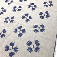 02-6572 リネン平織 刺繍